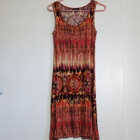 Spense Dresses & Skirts - Spense Sleeveless Print Summer Dress